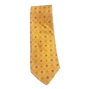 Jos. A. Bank 100% Silk Hand Sewn Gold Tie